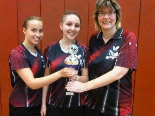 Damenmannschaft gewinnt den Verbandspokal