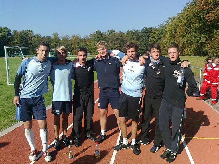 TTV-Mannschaft beim Fußball-Grümpelturnier
