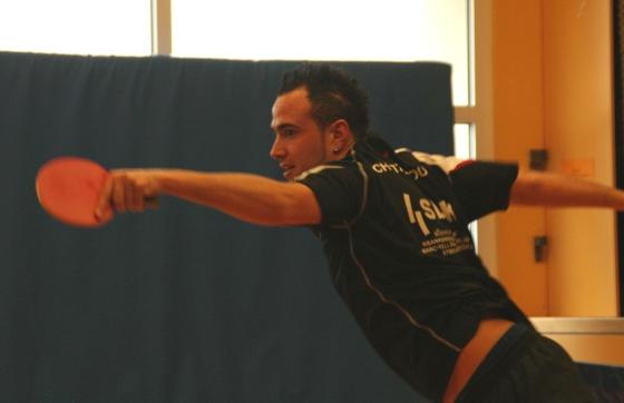 Alexandro Chatzopoulos gewann beide Einzel und im Doppel