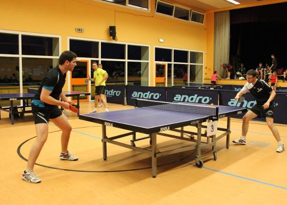 Tischtennis in der Kraichgauhalle