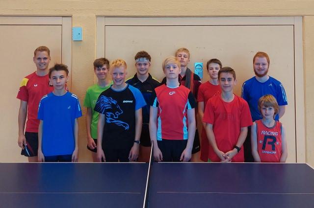 Teilnehmer des Trainingscamp